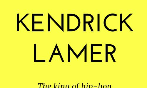 Kendrick Lamerが王者たる理由 1